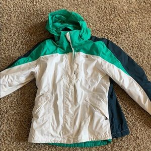 Size large women's north face heavy coat